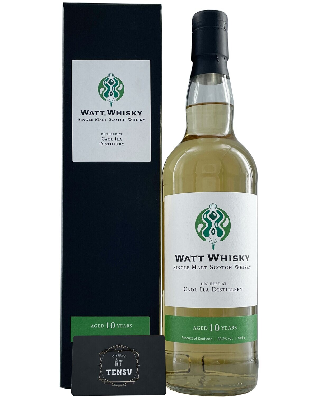"Caol Ila 10Y (2010-2021) SC 58.2 ""Watt Whisky"""