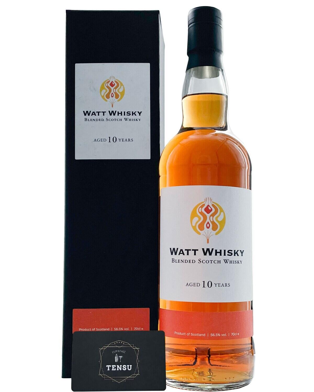 """Blended 10Y (2010-2021) SC 56.5 """"Watt Whisky"""""""