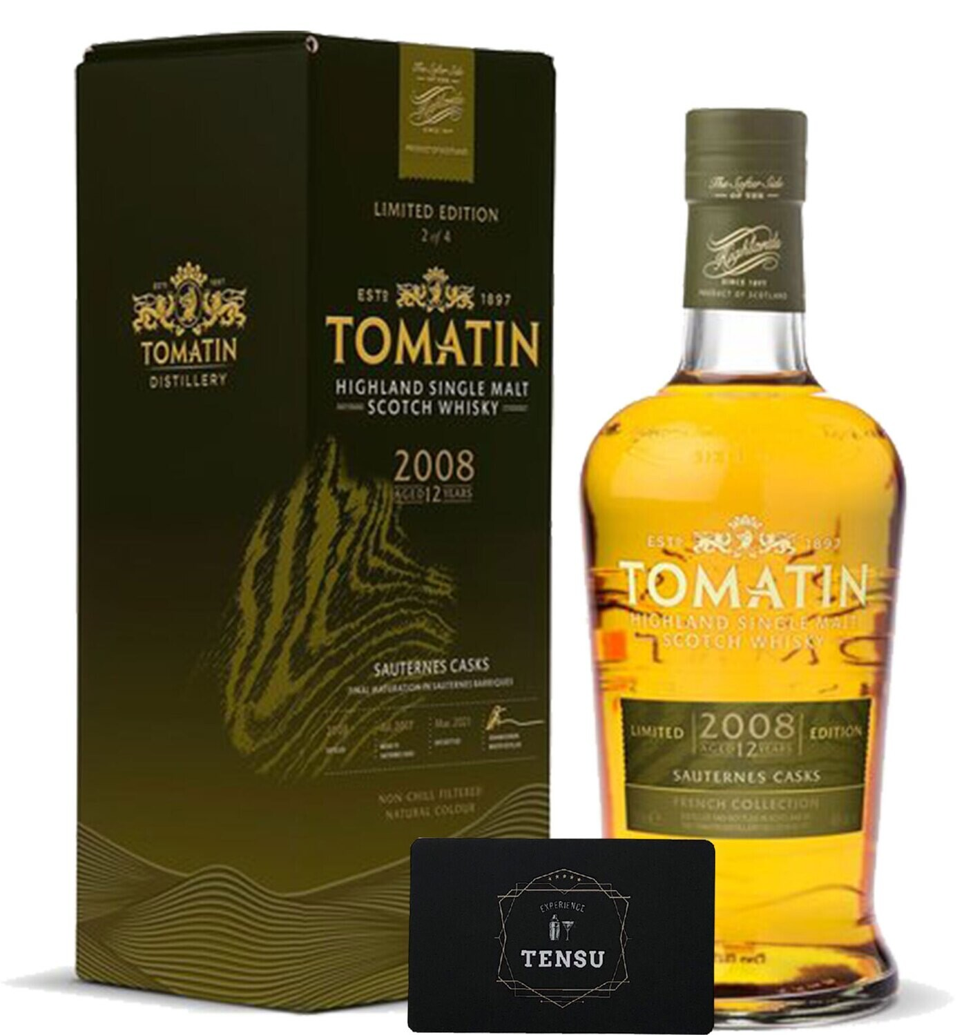 """Tomatin French Collection Sauternes 12Y (2008-2021) 46,0 """"OB"""""""
