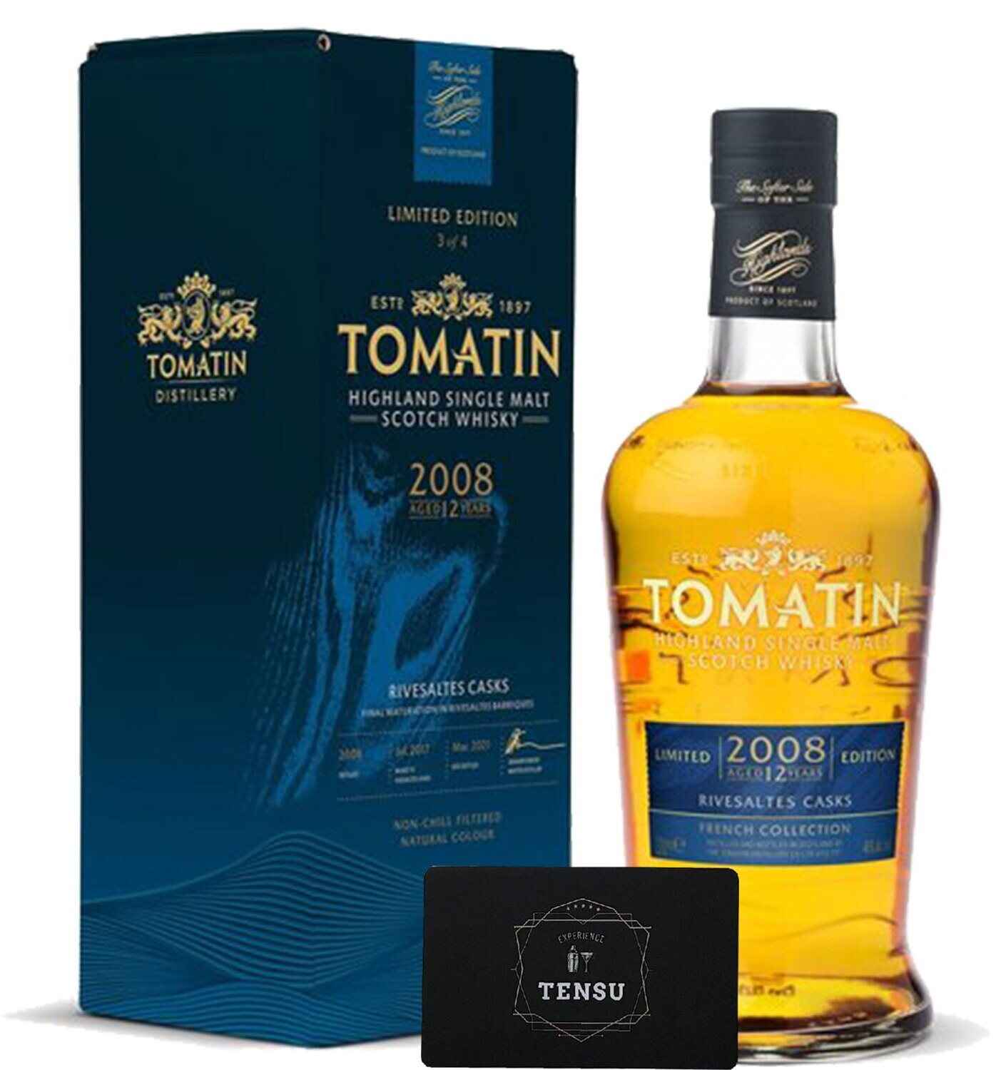 """Tomatin French Collection Rivesaltes 12Y (2008-2021) 46,0 """"OB"""""""