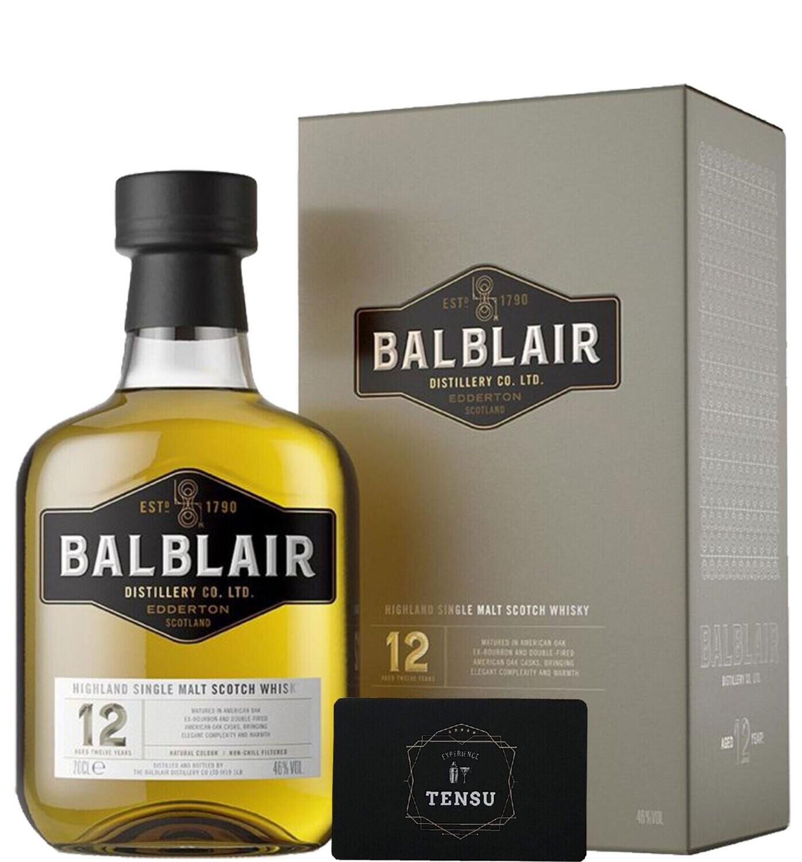 "Balblair 12 Years Old (2021) 46.0 ""OB"""