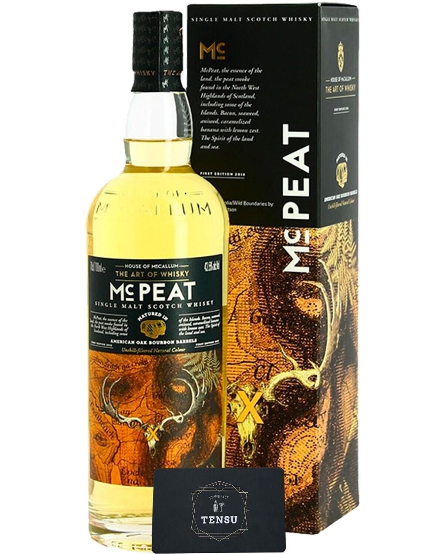 "MC Peat Bourbon 43.5 ""House of McCallum"""