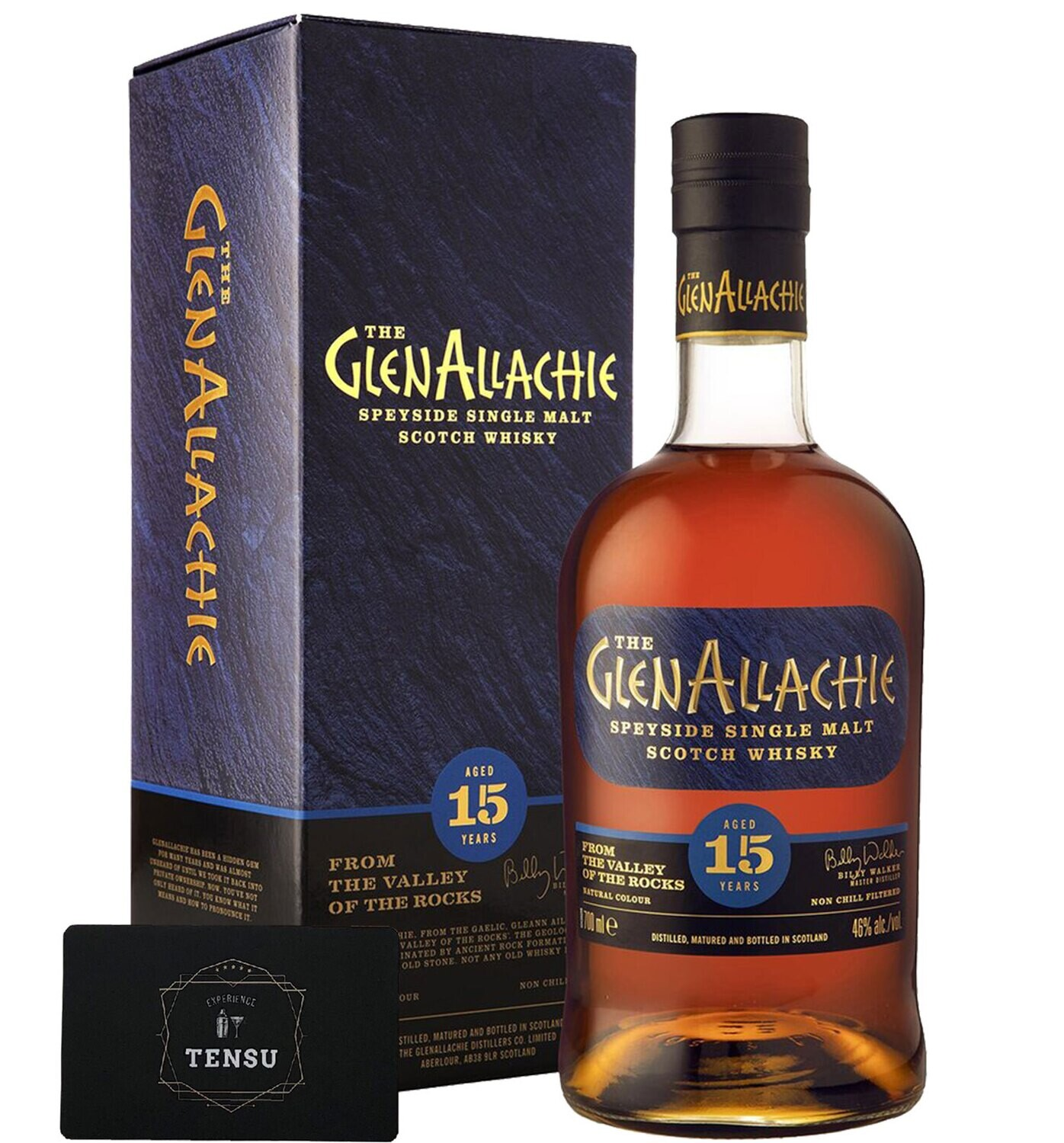 """GlenAllachie 15 Years Old (2020) 46.0 """"OB"""""""