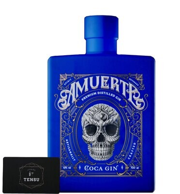 Amuerte Blue - Coca Leaf Gin