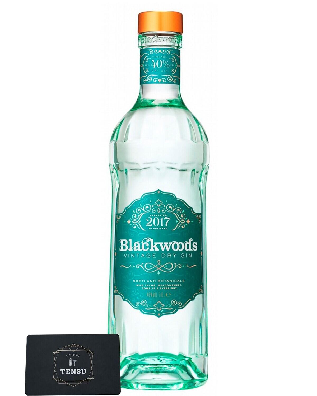 Blackwood's Vintage 2017 Dry Gin