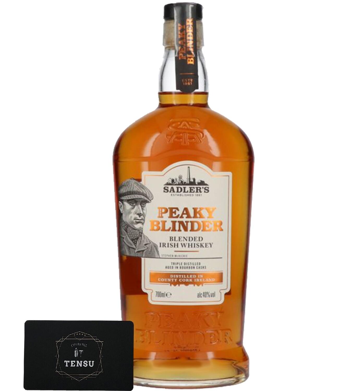 """Peaky Blinder Blended Irish Whiskey 40.0 """"MH"""""""