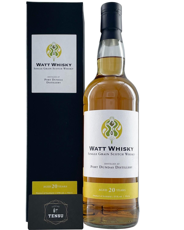 """Port Dundas 20Y (2000-2021) 57,1 """"Watt Whisky"""""""