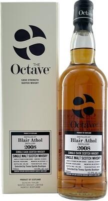 "Blair Athol 12Y The Octave (2008-2021) 53.8 ""Duncan Taylor/Tensu"""