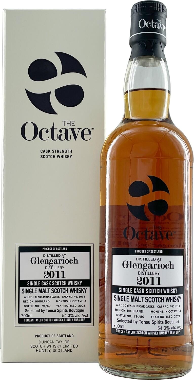 """Glen Garioch 10Y The Octave (2011-2021) 54.3 """"Duncan Taylor/Tensu"""""""