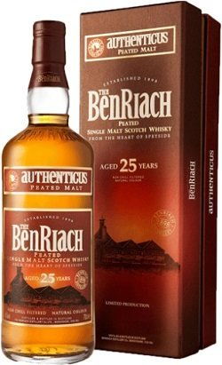 BenRiach 25 Years Old Authenticus Peated Malt
