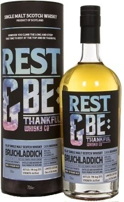 "Bruichladdich 10 Years Old ""Rest & Be Thankful"""