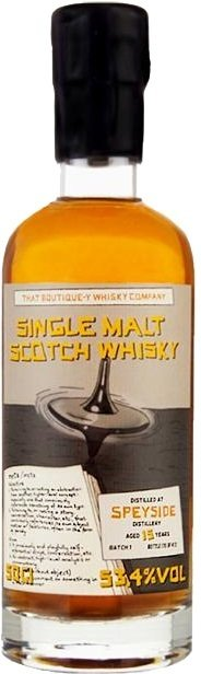 """Speyside 15 Years Old - Batch 1 """"That Boutique-Y Whisky Company"""""""
