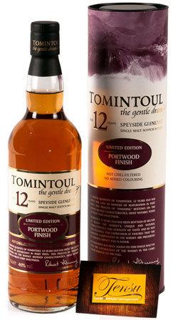 Tomintoul 12 Years Old - Portwood Finish