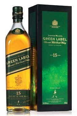 Johnnie Walker 15 Years Old Green Label