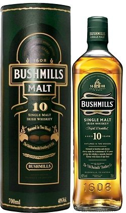 Bushmills 10 Years Old