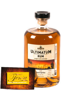 "Sancti Spiritus 18 Years Old Cuba Rum (1999-2017) ""Ultimatum"""
