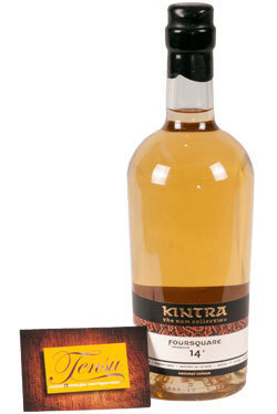 "Foursquare 14 Years Old Barbados Rum (2002-2016) ""Kintra"""