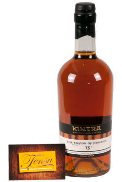 "The Taylor 13 Years Old Panama Rum (2004-2017) ""Kintra"""