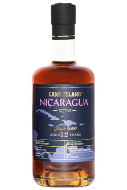"Cane Island Rum - Secret Distillery 12 Years Old ""Single Estate Nicaragua"""