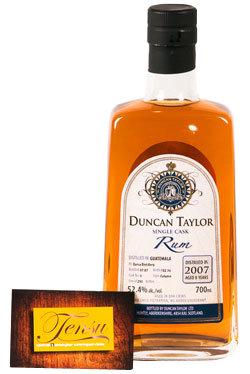 """Darsa 8 Years Old Guatemala Rum (2007-2016) """"Duncan Taylor"""""""