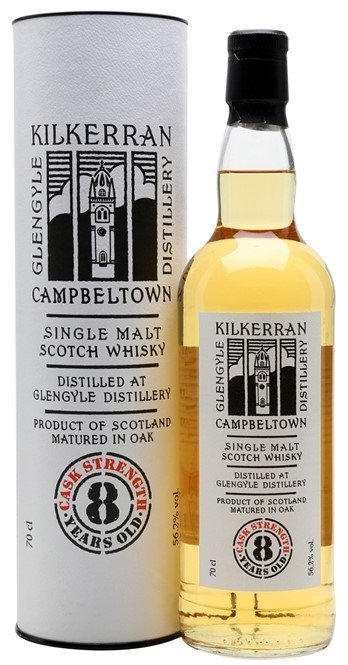 "Kilkerran 8 Years Old (Cask Strength) 55.7 ""OB"""