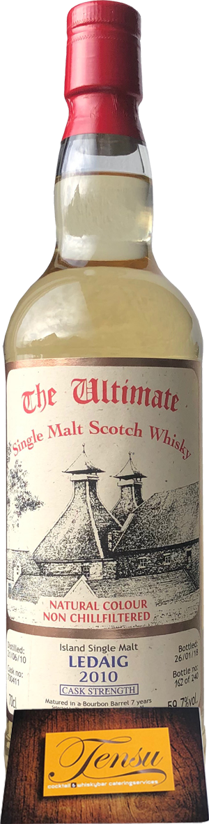 "Ledaig 7 Years Old (2010-2018) - Cask Strength ""The Ultimate"""