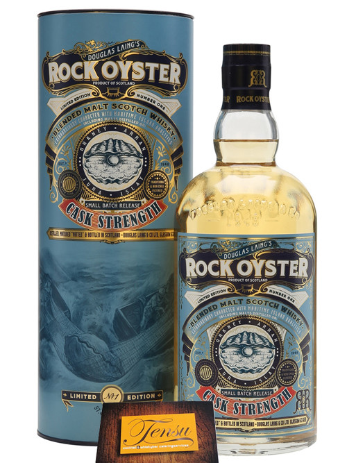 "Rock Oyster - Cask Strength - Limited Edition ""Douglas Laing"""