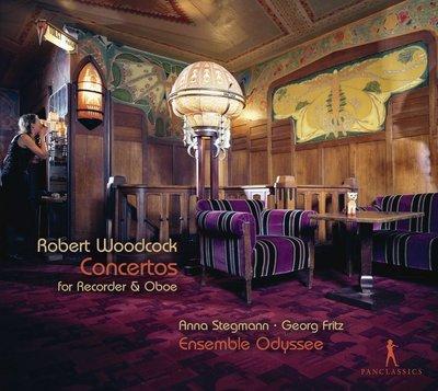 Robert Woodcock: Concertos for Recorder & Oboe