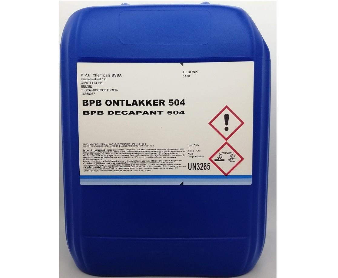 BPB koudontlakker vloeibaar, inhoud: 5 L