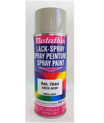 Metaflux Lak Spray RAL 7044 Zijde grijs, inhoud: 400 ml
