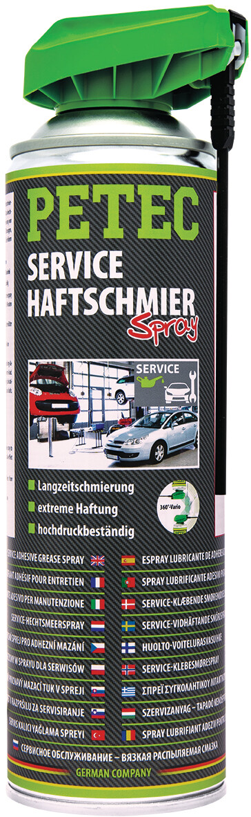 Petec service-, hechtsmeer spray, transparant 500 ml
