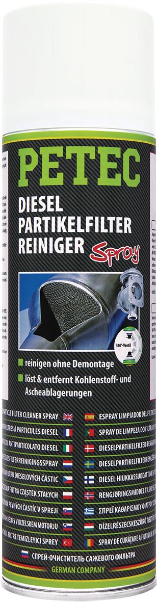 Petec dieselpartikelfilter reiniger spray 400 ml
