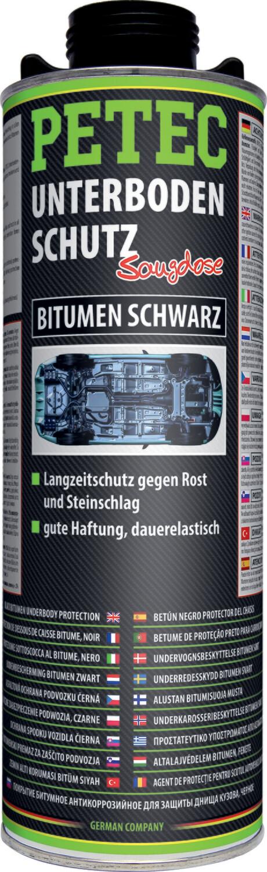 Petec bodemplaatbescherming bitumen zwart patroon 1 L
