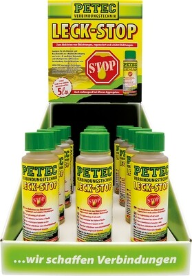 Petec display lekstop additief, inhoud: 12 x 150 ml