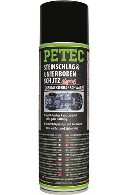 Petec steenslag & bodemplaatbescherming zwart spray 500 ml
