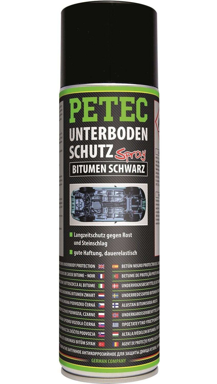 Petec bodemplaatbescherming bitumen zwart spray 500 ml