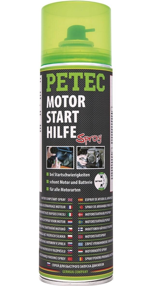 Petec motorstarthulp spray, inhoud: 500 ml