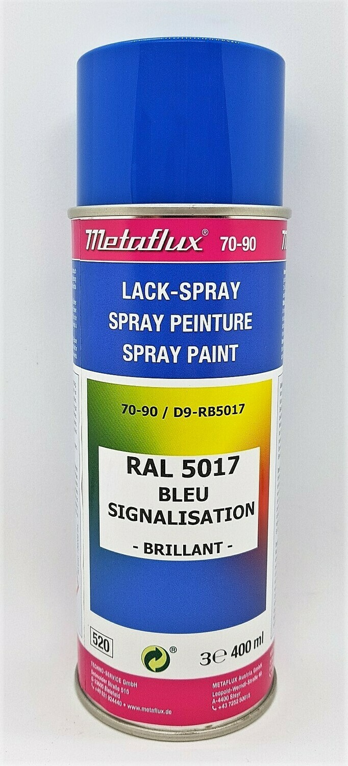 Metaflux Lak Spray RAL 5017 Verkeersblauw 400 ml