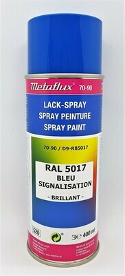Metaflux Lak Spray RAL 5017 Verkeersblauw 400 ml