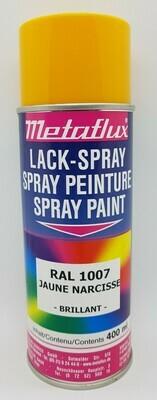 Metaflux Lak Spray RAL 1007 Narcissengeel 400 ml