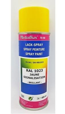 Metaflux Lak Spray RAL 1023 Verkeersgeel 400 ml