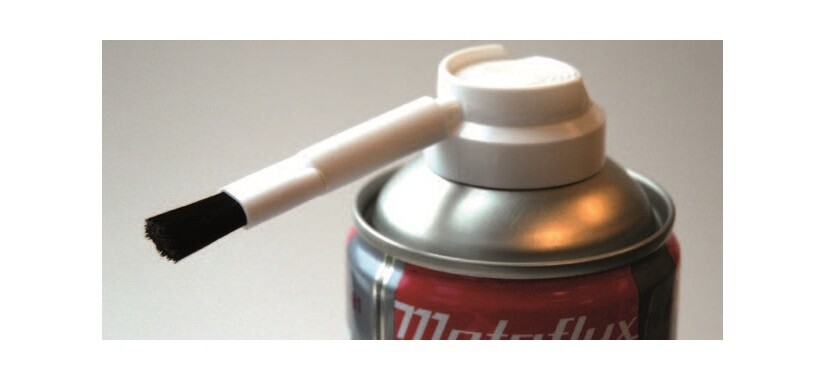 Metaflux spuitkop met penseel voor glijmetaal spray (70.81)