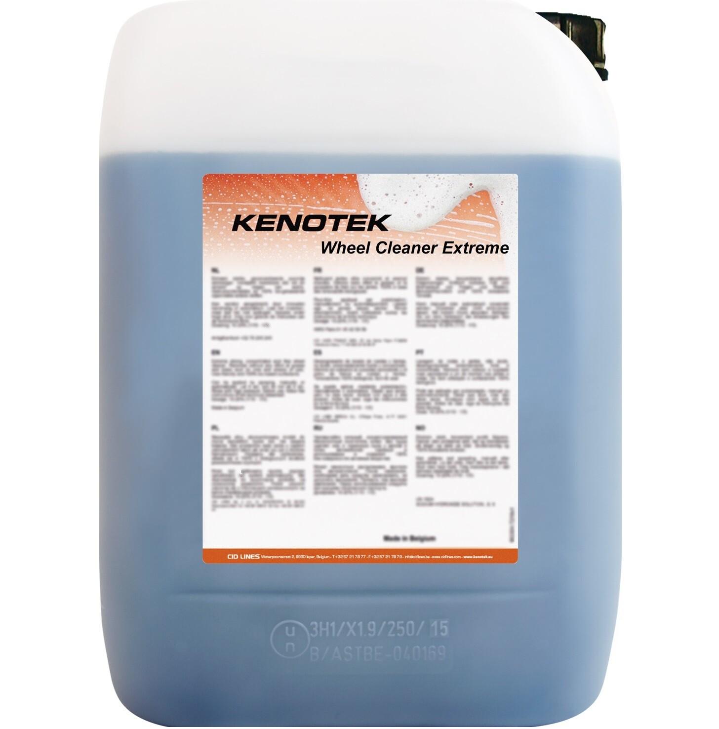 Kenotek Wheel Cleaner Extreme, inhoud: 25 kg