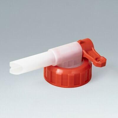 Metaflux aftapkraantje voor bidon met halsopening 40 mm