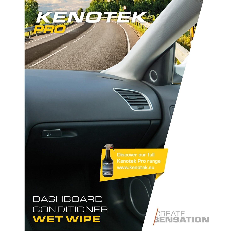 Kenotek Wet-Wipe Dashboard Conditioner