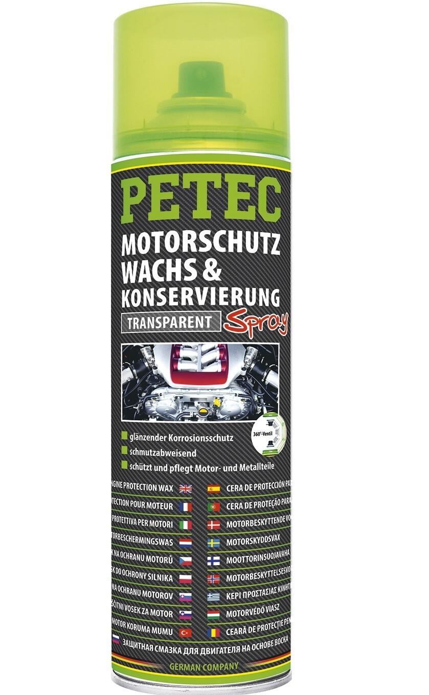 Petec motor beschermende wax spray