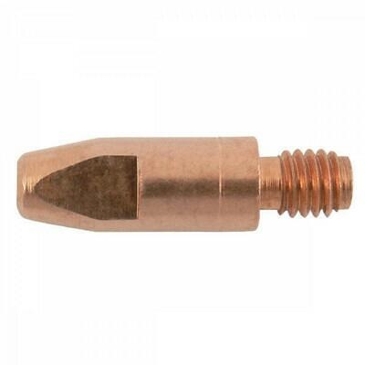 Metaflux contacttip diameter 1,0 mm, M 6, chroom, SO 24