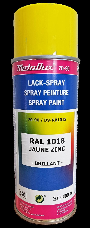 Metaflux Lak Spray RAL 1018 Zinkgeel 400 ml
