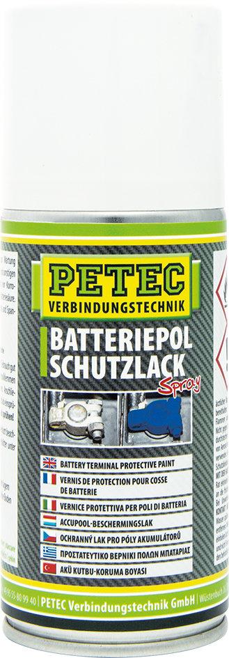 Petec batterijpool beschermingslak spray, inhoud: 150 ml