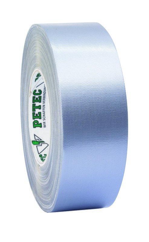 Petec power tape grijs 50 m x 50 mm
